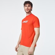 Stone B1B Logo Short Sleeve Tee - Energetic Orange