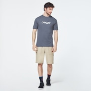 Stone B1B Logo Short Sleeve Tee - Uniform Gray