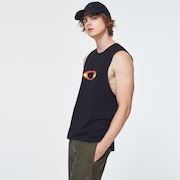 Sunset Ellipse Tank Top - Blackout
