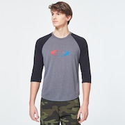 USA Gradient Ellipse 3/4 Tee