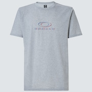 Match Ellipse Short Sleeve Tee - New Granite Heather