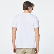 Match Ellipse Short Sleeve Tee - White