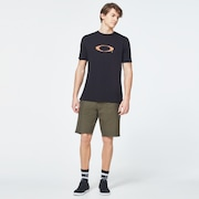 Pop Ellipse Short Sleeve Tee - Blackout