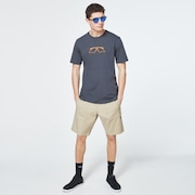 Oakley Mumbo Short Sleeve Tee - Uniform Gray