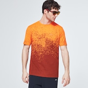 Gradient Orange Print