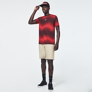 Dynamic Short Sleeve Tee - High Risk Red
