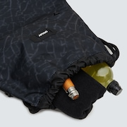 Street Satchel Bag - Black Glass Print