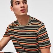 Large Stripe Short Sleeve T-Shirt