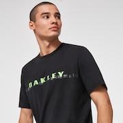 Stripe Barck Logo SS T-Shirt