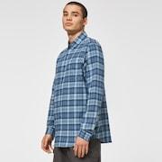 LS Check Shirt - Blue Check