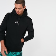 Hoodie New Bark - Black/White
