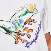 Jupiter Frog Tee - White