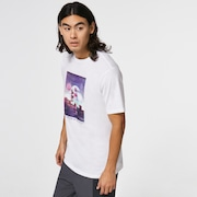 Outer Limits SS Tee - White