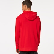 Freeride Fleece Hoodie - Red Line