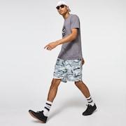 Camo Float Ellipse Tee - New Athletic Gray