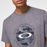 Camo Float Ellipse Tee - New Athletic Gray
