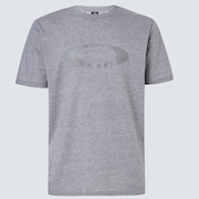 Embossed Ellipse Tee - New Granite Hthr