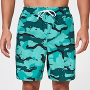 Camo 18 Beach Short - B1B Camo Green