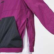 Retro Lite Packable Anorak - Dark Purple