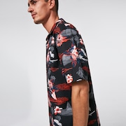 Tropic Bloom SS Button Down