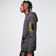 B1B Pocket Pullover Hoodie - Forged Iron