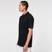 Contender Stripe Polo - Blackout