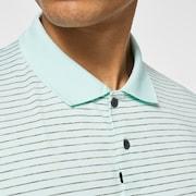 Oakley Jacquard Stripe Polo - Green