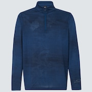 Oakley Contender Half Zip - Poseidon Dark Heather