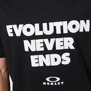 Evolution Never Ends SS Tee - Blackout
