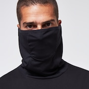 Cloth Face Covering Tee LS - Blackout
