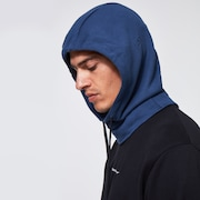 Cloth Face Covering Hooded - Universal Blue