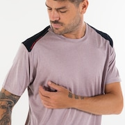 Camiseta TRN Vapor Block SS - Stone Gray
