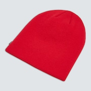 Fine Knit Beanie - Red Line