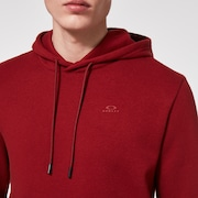 Relax Pullover Hoodie - Iron Red