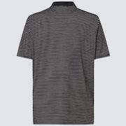 Oakley Jacquard Stripe Polo - Blackout