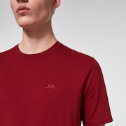 Relaxed Short Sleeve Tee - Iron Red