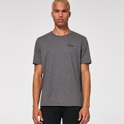 Circled Feathers B1B Tee - New Athletic Gray