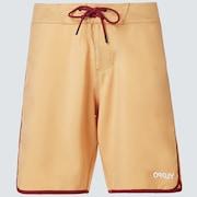 Solid Crest 19 Boardshort - Pure Gold
