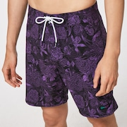 Dark Floral 18 Rc Boardshorts