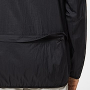 Packable Rain Jacket - Blackout