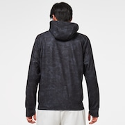 All Over Space Hoodie - Black Space Camo