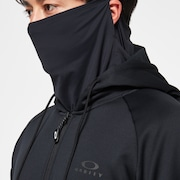 The Mask Fz Hoodie - Blackout
