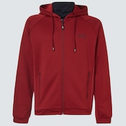The Mask Fz Hoodie - Iron Red