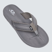 Pier Ellipse Flip Flop - Stone Gray