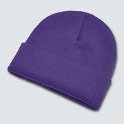 B1B Gradient Patch Beanie - Deep Violet