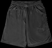 Bermuda Masc Mod Big Logo Shorts - Stone Gray