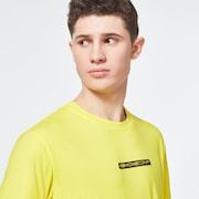 Oakley® Definition Patch Short Sleeve Tee - Radiant Yellow