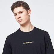 Oakley® Definition Patch Short Sleeve Tee - Blackout