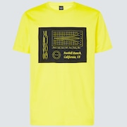 Oakley® Definition Golf Short Sleeve Tee - Radiant Yellow