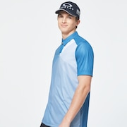 Golf Stretch Logo Short Sleeve Tee - Interstellar Blue